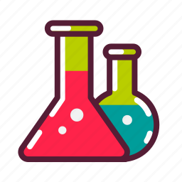 chemicals, chemistry, education, plasticons, potion, science icon
