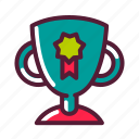 cup, education, prize, trophy icon