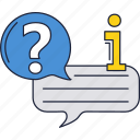 answer, education, question icon