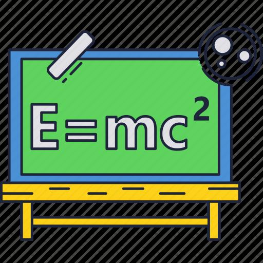education, formula, physics, school icon