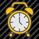 alarm, learning, school, sleep, university icon