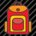 backpack, bag, learning, school, university icon