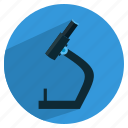 microscope, zoom icon