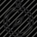 compass, navigation, gps, direction icon