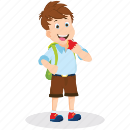 extracurricular activities, fun activities, painter, school boy, student icon