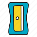 pencil, sharpener icon