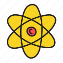 atom, chemistry, molecule, physics icon