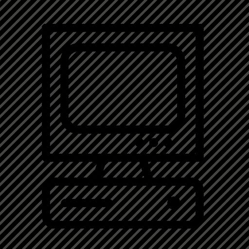 computer, desktop, technology icon