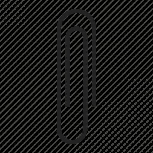 clip, paperclip, staple icon