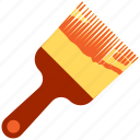 brush, color, construction, paint, paintbrush icon