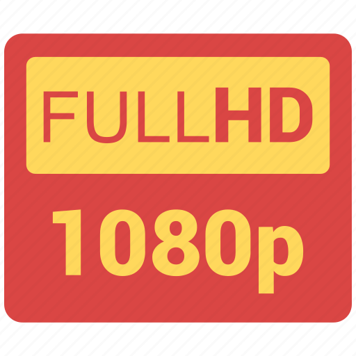 difinition, full, hd, high, power icon