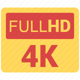 full, hd icon