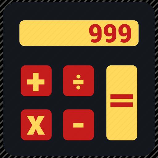 calculate, calculator, order, sum icon