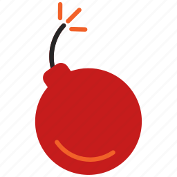 bomb, exploading icon