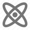 atom, atoms, molecule icon