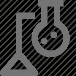 beaker, chemistry, education, experiment, learn, school, science icon