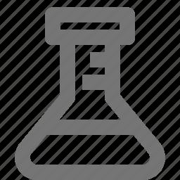 beaker, science icon