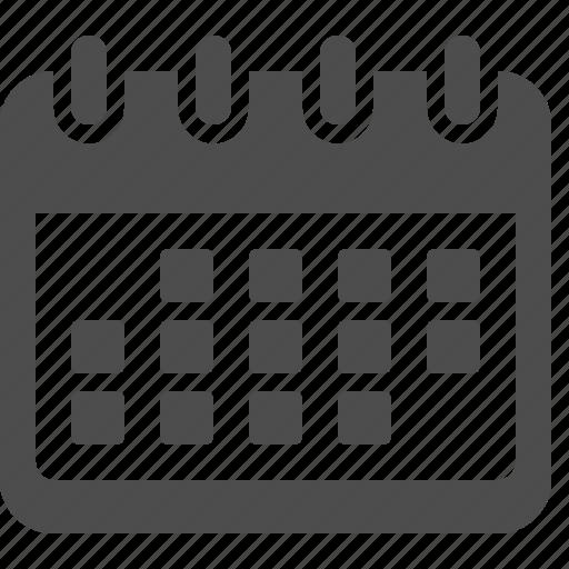 appointment, calendar, date, memo icon