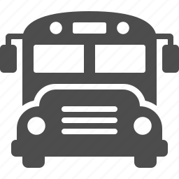 bus, school bus, travel, vehicle icon