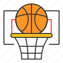 basket, basketball, education, game, learning, school, sport icon