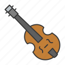 education, guitar, music, musical instrument, school, sound, violin icon