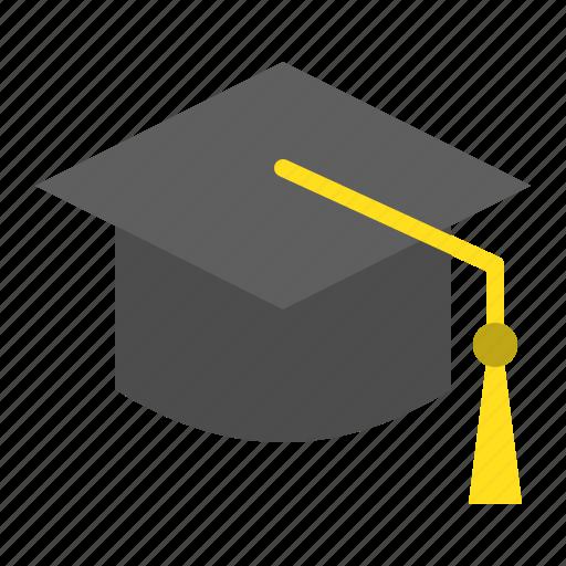 Cap, education, graduation cap, graduation hat, hat, learning, school icon - Download on Iconfinder