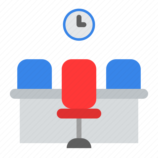 Chair, furniture, office, office desk, school, studio, workshop icon - Download on Iconfinder