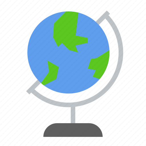 Earth, education, globe, location, map, school, world icon - Download on Iconfinder