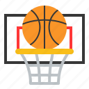 ball, basket, basketball, game, learning, school, sport icon