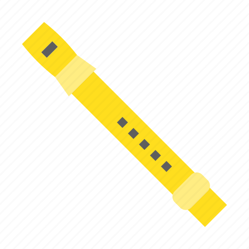 Flute, learning, musical instrument, school, sound icon - Download on Iconfinder