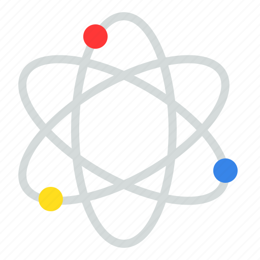 Atom, education, learning, physic, school, science icon - Download on Iconfinder