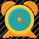 alarm, clock, time, alert