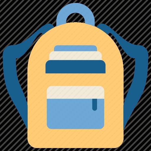 bag, education, school, schoolbag, science, student, study icon