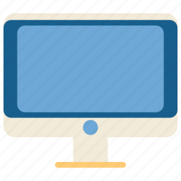 computer, education, online, school, student, study, televition icon