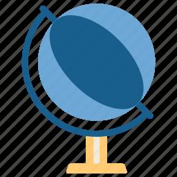 education, globe, knowledge, school, student, study, world icon