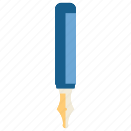 education, pen, school, student, study, stylograph, write icon