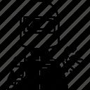 welder, metal, mechanic, protective, mask icon