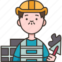 builder, constructor, foreman, labor, worker