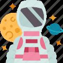 astronaut, spaceman, cosmonaut, explorer, galaxy