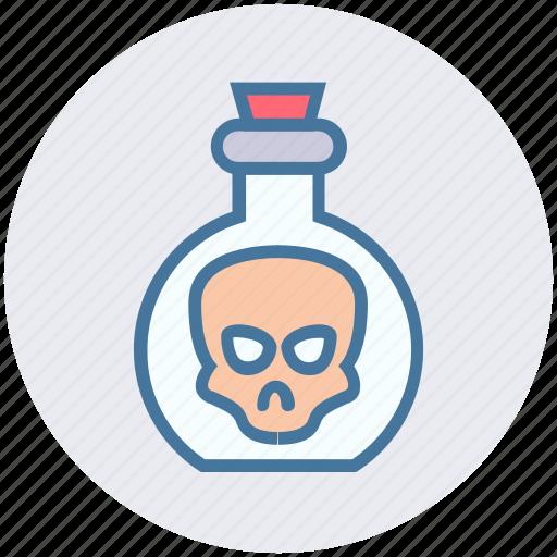 chemical, experiment, head, in head, laboratory, liquid, science icon