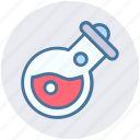 experiment, flask, lab, laboratory, liquid, science, test tube icon