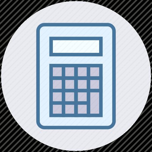calculator, education, math, mathematics, maths, science, study icon