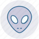 alien, avatar, face, mask, robot, robotics, science icon