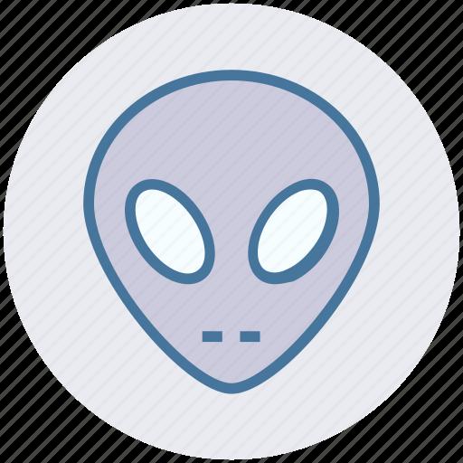alien, avatar, face, mask, robot, robotics, science icon