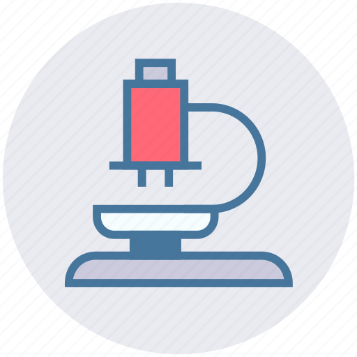 bacterium, biology, laboratory, medical, microscope, research, science icon