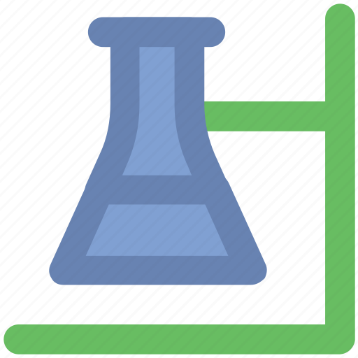 chemistry, experiment, lab flask, laboratory, microbiology, research, science icon