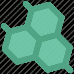 geometric pattern, hexagon shape, hexagonal pattern, hexagons, honeycomb pattern, molecule icon