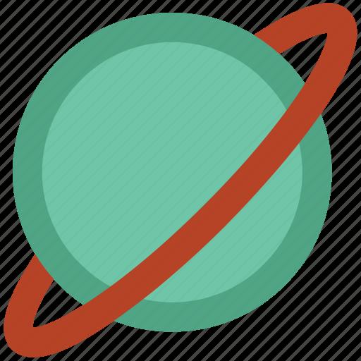 exploration, orbit, planet, saturn, solar system, universe icon