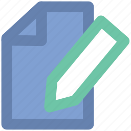 article writing, content writing, documentation, edit, paper, pen, writing icon