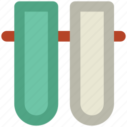 apparatus, glass, laboratory equipment, science, test tubes icon